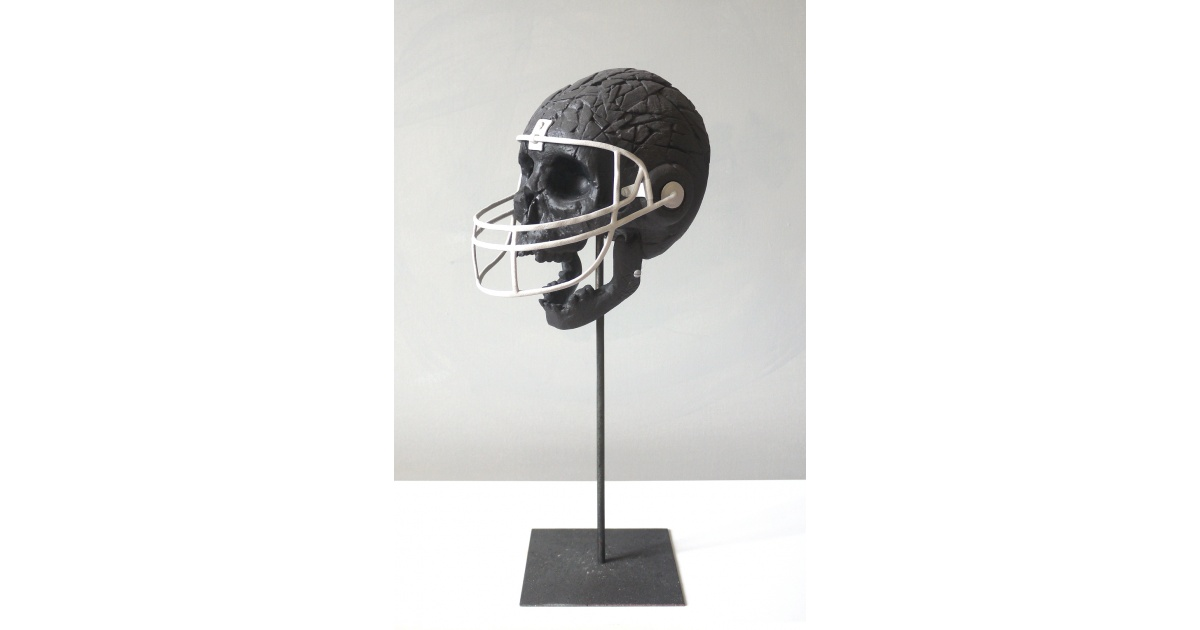 store.joelknafo-art.com Bom K - Protection Black (Sculpture)