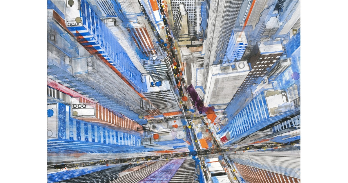 store.joelknafo-art.com Gottfried Salzmann - New-York Times Square II