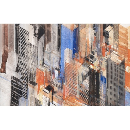 store.joelknafo-art.com Gottfried Salzmann - New-York Diagonal