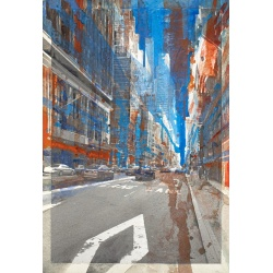 store.joelknafo-art.com Gottfried Salzmann - New-York Bus lane